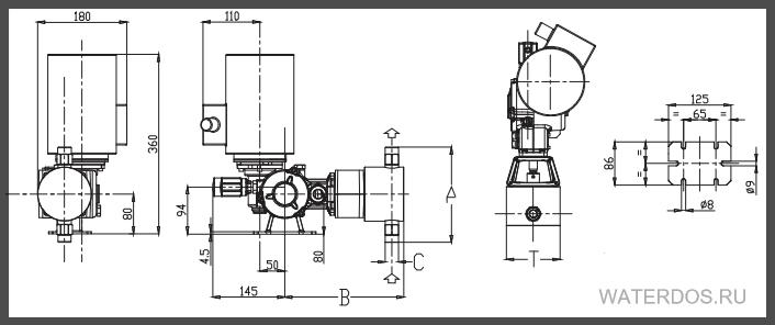 Размеры Spring PS1